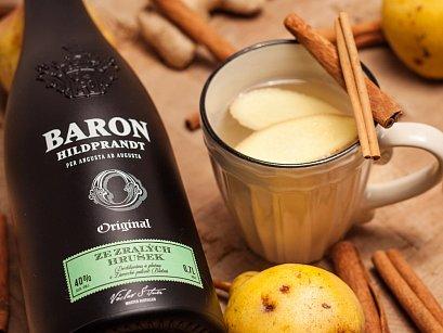 Dopřejte si oceňovaný destilát Baron Zralá Hruška