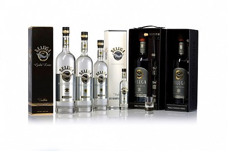 Beluga, luxusní ruská vodka