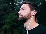 Designová sluchátka Sencor